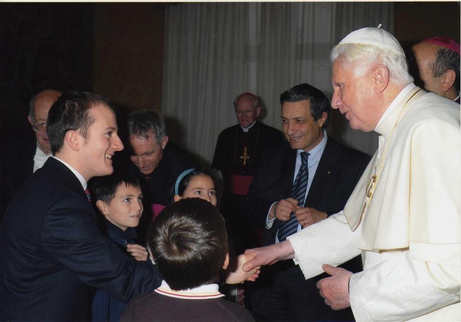 Natale '09 - Auguri a Benedetto XVI
